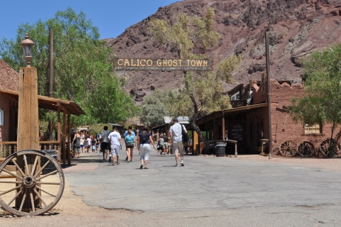 Town entrance, Calico Ghost Town
