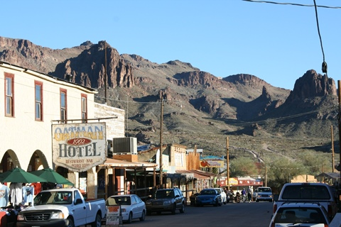 Oatman, Historic Route 66